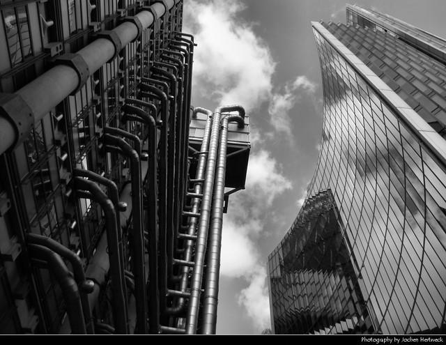 Lloyd's of London & The Willis Building, London, UK