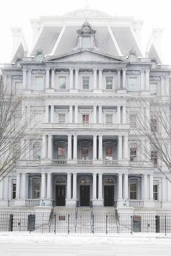 Eisenhower Executive Office Building Facade