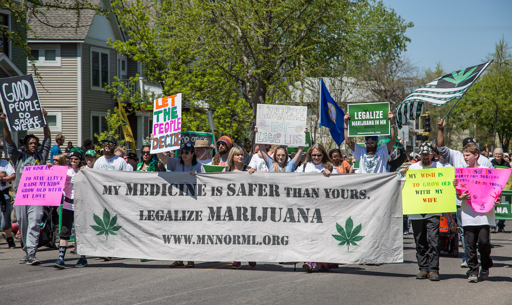 MN NORML - Legalize Marijuana - Minneapolis MayDay Parade 2017
