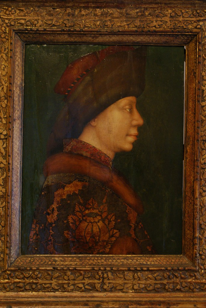 """""""Prince moscovite"""" de Giambono (vers 1450) à la Pinacothèque."""