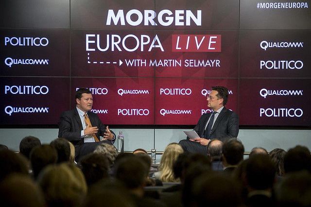 2017-05-03 - Morgen Europa with Martin Selmayr