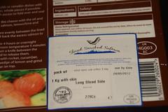 DSC_9809 Smoked Salmon from Billingsgate Fish Market, Scotch Smoked Salmon Co Ltd, was NOT up to standard