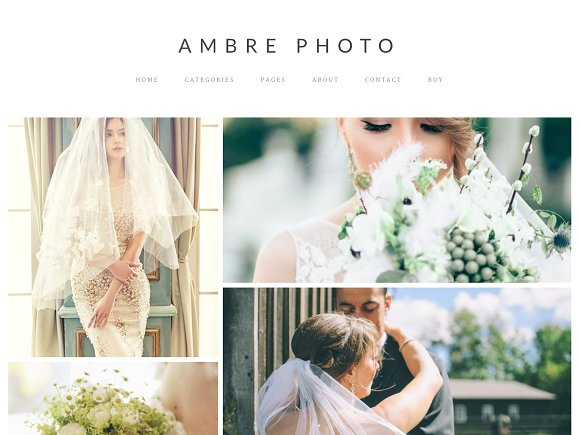 Ambre Photo v1.0.0 – WordPress Theme