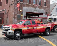 FDNY Brush Fire Unit 8 Truck, Eastchester, Bronx, New York City
