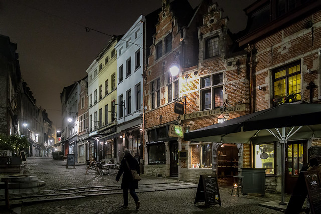 Brussels at midnight