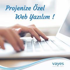 Ölçeklenebilir ve Genişletilebilir Projenize Özel Web Yazılım !