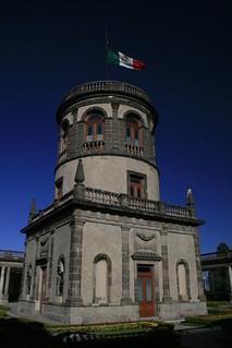 chapultepec castle inner tower