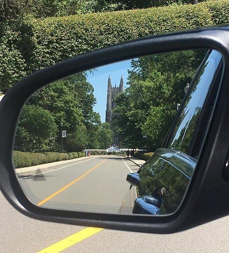Of all the views of @dukechapel this is my least favorite. It's not goodbye, it's see you later. #pictureduke #foreverduke #dukealumni // PC: @_shampooj