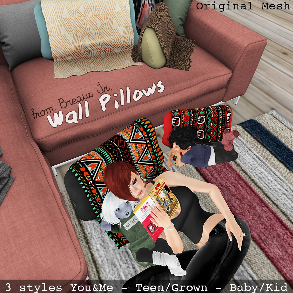 Wall Pillows Ad - SecondLifeHub.com