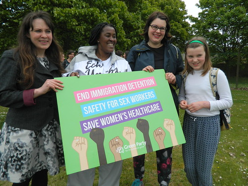 Green Party Women manifesto launch 2017