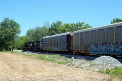 Train 290, Northbound out of Shenandoah Junction, WV