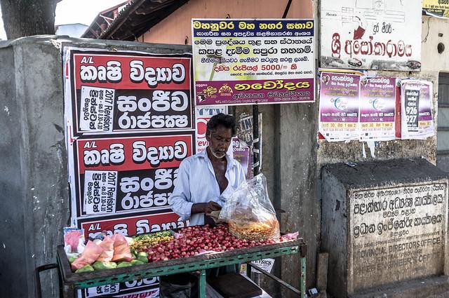 Sour Fruit vender