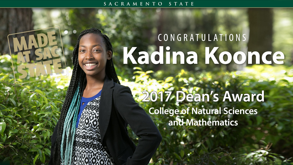 Kadina Koonce - College of Natural Sciences and Mathematics