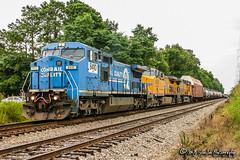 NS 8410 | GE C40-8W | NS Memphis District