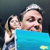 """Hetken tunsin itseni maailman kauneimmaksi neidoksi. """"Prinsessa-kuningas"""" Intian sanoin. Sunnuntain kivat leikit. #playing #princess"""