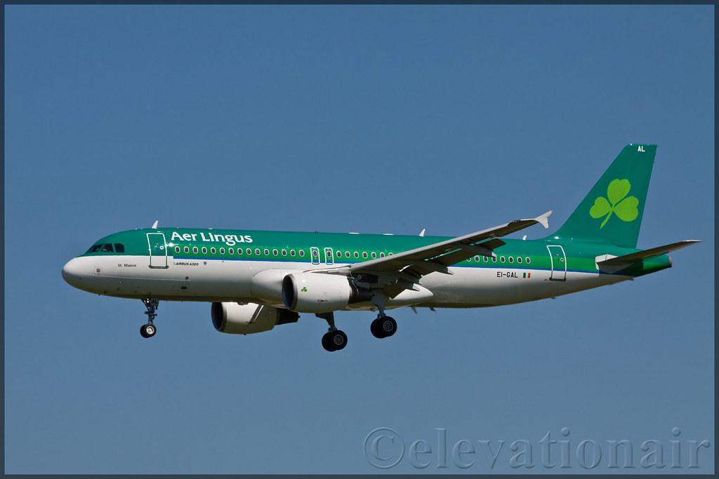 EI-GAL - A320 - Aer Lingus