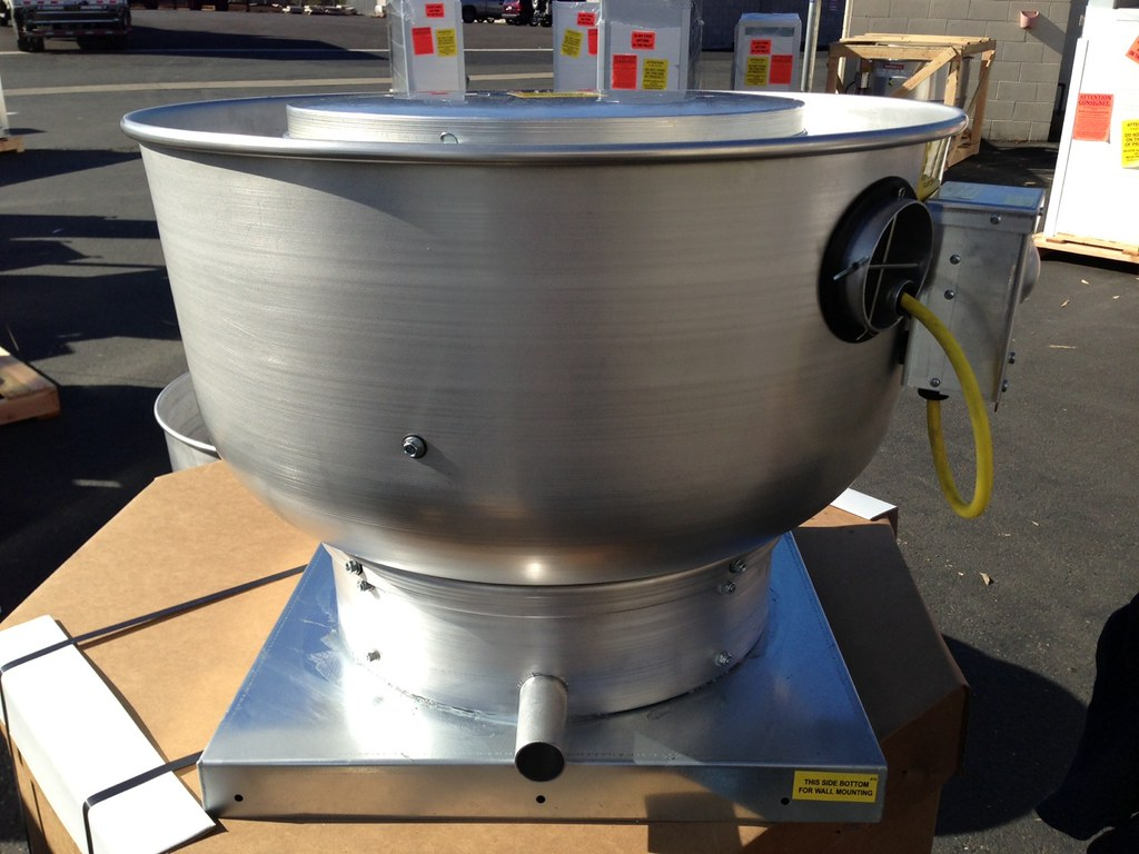 Cook Roof Mounted Exhaust Fan : Shutter mounted exhaust fan or roof roadfood