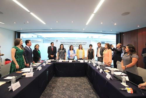 Segunda comisión Relaciones Exteriores, Defensa Nacional y Educación Pública 9/may/17