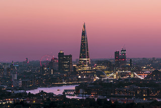 The Shard In Pink