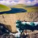 Sørvágsvatn cliffs - Faroe Islands by @PAkDocK / www.pakdock.com