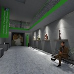 Rendering of fossil museum