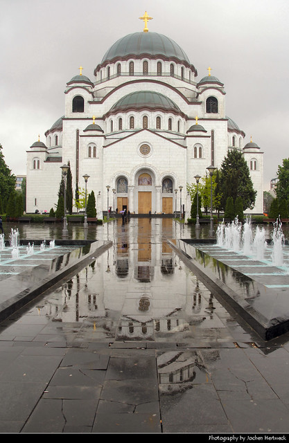 Church of Saint Sava Reflection, Belgrade, Serbia