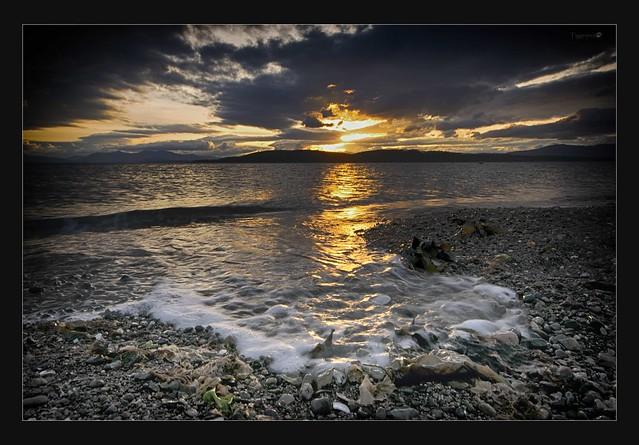 Superwide sunset