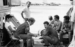 1975 Tan Son Nhut, Saigon, Vietnam detachment personnel