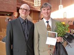 Emil Björklund och Mattias Arveheim