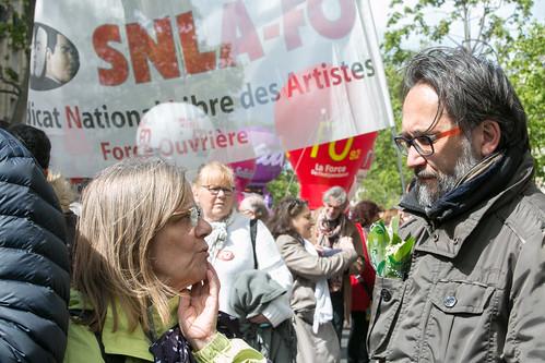 1er Mai 2017 à Paris