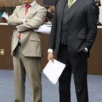 qui, 04/05/2017 - 15:18 - Da esquerda para direita: Vereador Elvis Côrtes e vereador Jorge Santos Local: Plenário Amynthas de BarrosData: 04-05-2017Foto: Abraão Bruck - CMBH