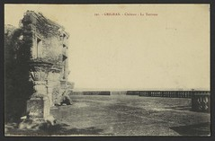 Grignan. - Château - La Terrasse