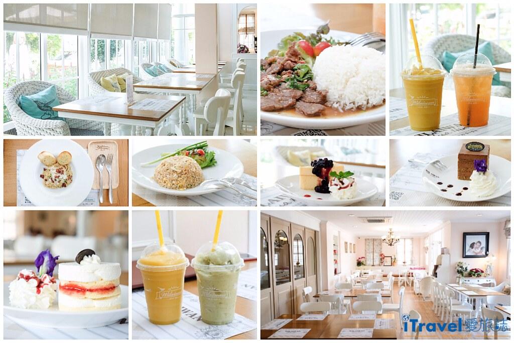 《華欣美食餐廳》Wilaiwan Hua Hin 華欣薇萊汶餐廳:Cicada創意市集旁特色餐廳,白色玻璃屋內家人同享百元單品美食。