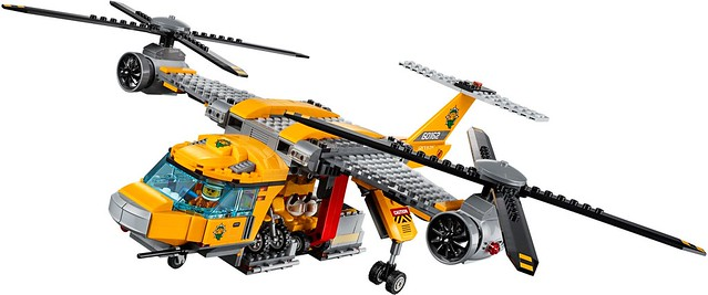 60162 Jungle Air Drop Helicopter 4