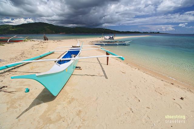Logbon Island's Sandbar
