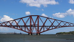 Flying Scotsman on Forth Bridge