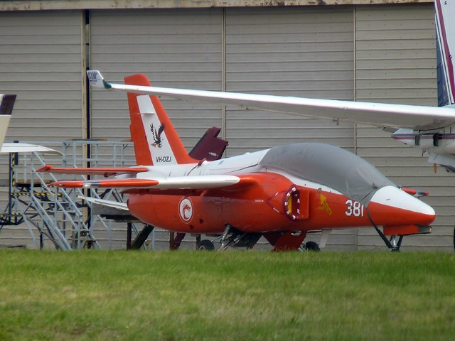 VH-DZJ Siai Marchetti S-211, Panasonic DMC-FZ35