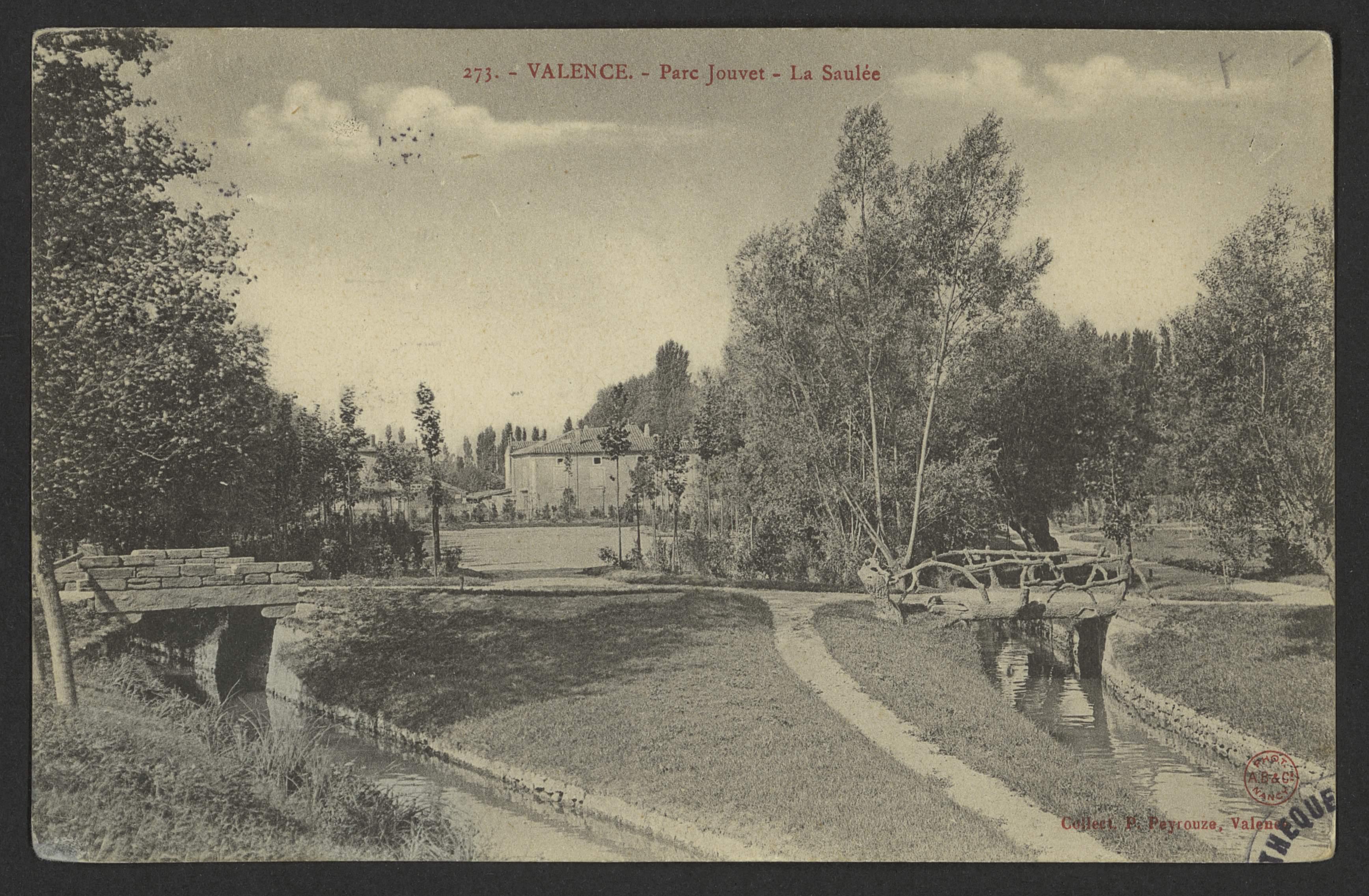 Valence - Parc Jouvet - La Saulée