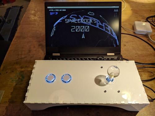 Space rocks 2000 controller