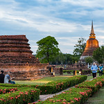 Sukhothai Historical Park görüntü. thailand sukhothai sukhothaihistoricalpark lightshow