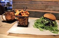 Brighton Vegetarian Guide Purezza vegan burger - Charlie on Travel