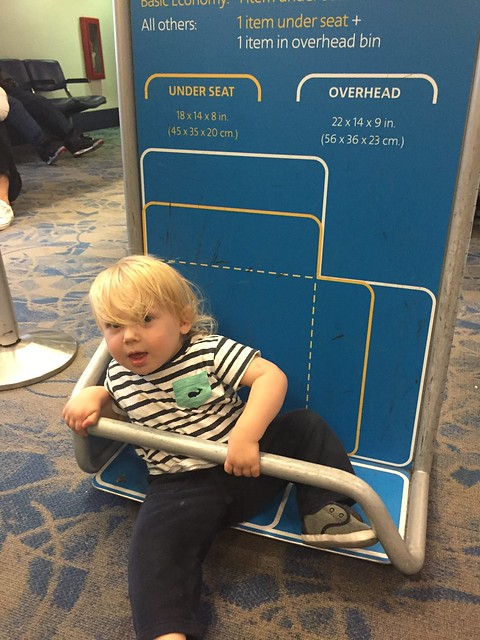 Carry on or check in #carryon #travel #airport #baby #luggage