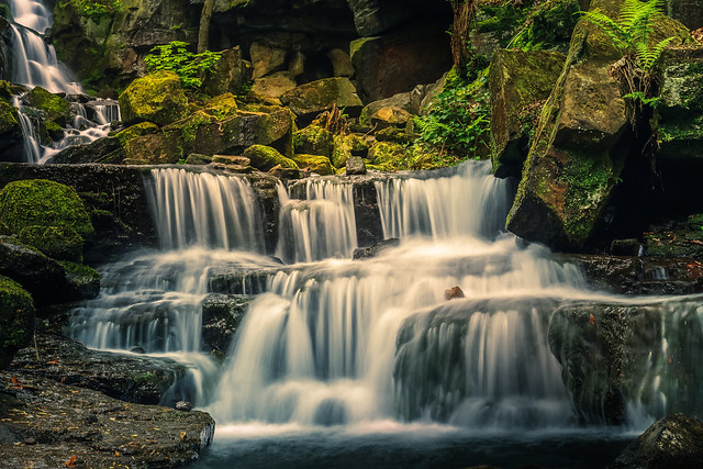 Lower Lumsdale Falls, Canon EOS 700D, Canon EF 16-35mm f/4L IS USM
