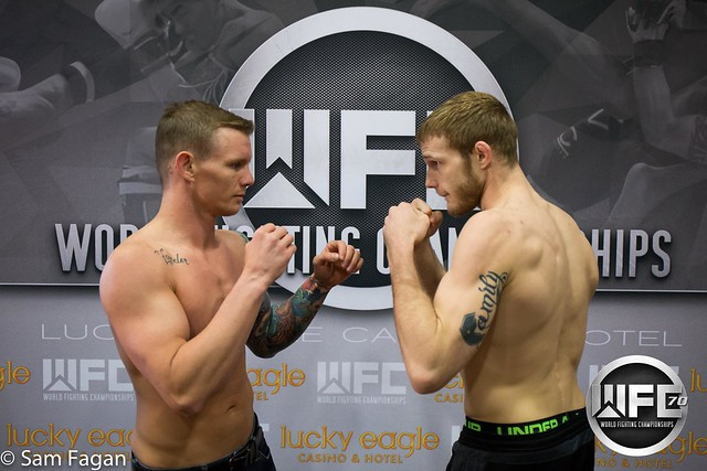 WFC 70 Weigh-Ins at Lucky Eagle Casino 4/28/17