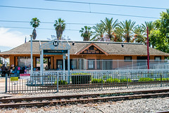 Watts (Los Angeles), CA train station