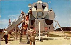 """Lunar Module"" NASA Tours Conducted by TWA. Postcard 114227, NASA Photo, (1960s)."