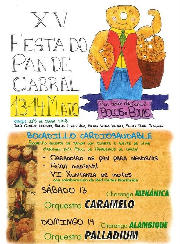 Carral 2017 - XV Festa do Pan de Carral - cartel