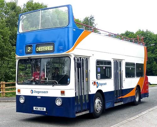 MBE 613R 'Stagecoach Yorkshire' No. 15513 Leyland Fleetline FE30AGR / Roe on Dennis Basford's 'railsroadsrunways.blogspot.co.uk'