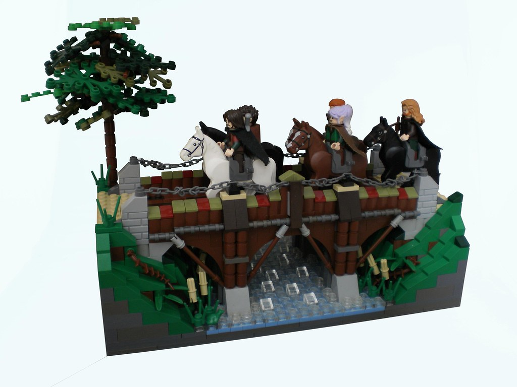 Tales of Edoria: chatter on the way (custom built Lego model)