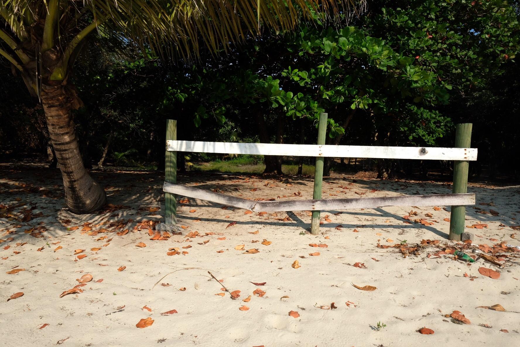 Beach walk roatan